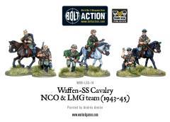 Waffen-SS - Cavalry NCO & LMG Team 1942-45
