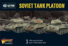Soviet Tank Platoon
