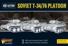 T34/76 Medium Tank Platoon (Plastic)