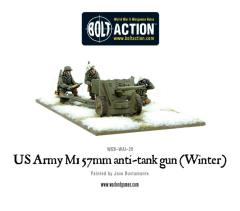 M1 57mm Anti-Tank Gun (Winter)