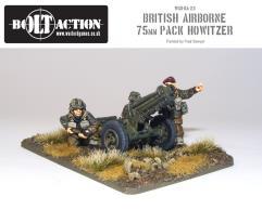 British Paras w/75mm Pack Howitzer