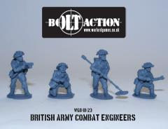 British Army Combat Engineers