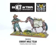 Chindit Mule Team