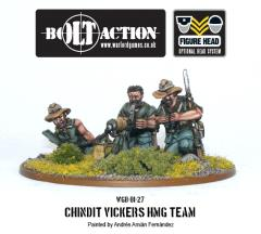 Chindit Vickers HMG Team
