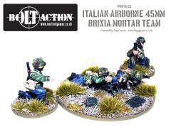 Italian Airborne - 45mm Brixia Mortar