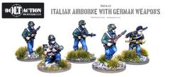 Italian Airborne w/German Weapons