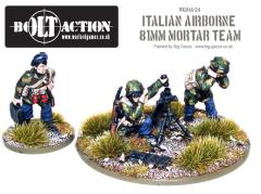 Italian Airborne - 81mm Mortar Team