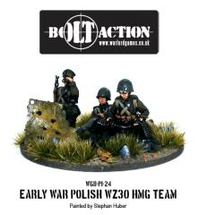 Early War - Polish WZ30 HMG Team
