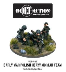 Early War - Polish 81mm Mortar Squad
