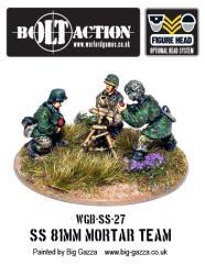 Waffen-SS - 81mm Mortar Team