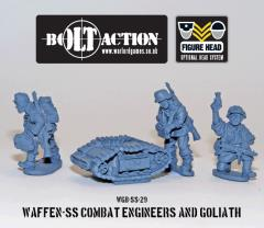 Waffen-SS - Combat Engineers & Goliath