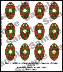 Auxiliary Cavalry Shield Transfers #1