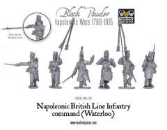 British Line Infantry Command - Waterloo