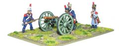 French Foot Artillery 6-pdr Cannon