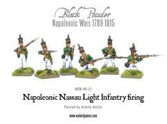 Nassau Light Infantry Firing