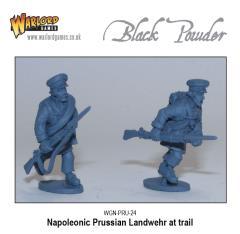 Napoleonic Prussian Landwehr at Trail