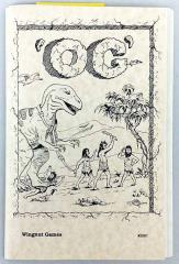 Og - The Role Playing Game (1st Edition, 1st Printing)