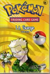 Gym Heroes - Lt. Surge Theme Deck