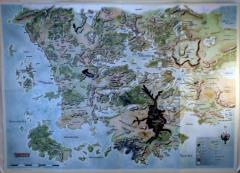 Forgotten Realms Campaign Guide (4th Edition) - Poster Map