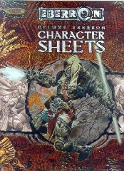 Deluxe Eberron Player Character Sheets