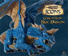 Gargantuan Blue Dragon
