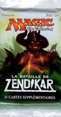 Battle for Zendikar Booster Pack (French)