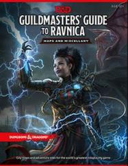 Guildmasters' Guide to Ravnica - Maps and Miscellany