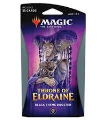Throne of Eldraine Theme Booster Pack - Black