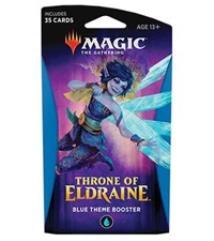 Throne of Eldraine Theme Booster Pack - Blue