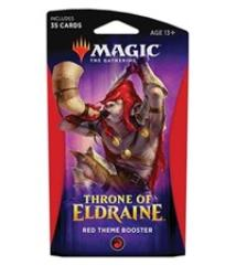 Throne of Eldraine Theme Booster Pack - Red