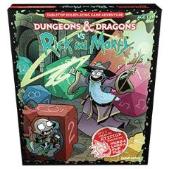 Dungeons & Dragons vs. Rick and Morty