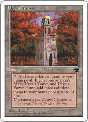 Urza's Tower - Red Leaves (C)