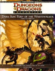 Dark Sun - Fury of the Wastewalker #3, Flight to Tyr