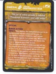 Gamma World - Omega Tech Item, Dehydrated Man Promo Card