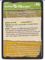 Gamma World - Alpha Mutation, Power Mimic Promo Card