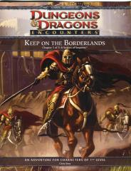 Keep on the Borderlands Chapter 1 - Season of Serpents