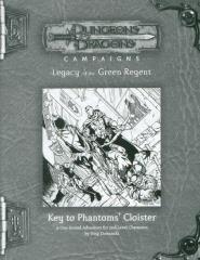RPGA #3 - Key to Phantoms' Cloister