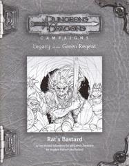 RPGA #8 - Rat's Bastard