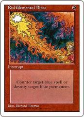 Red Elemental Blast (Spanish) (C)