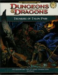 Treasure of Talon Pass w/Dungeon Tile