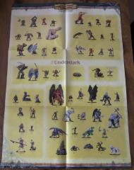 Underdark Poster Checklist
