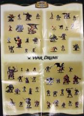 War Drums Poster Checklist