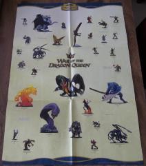 War of the Dragon Queen Poster Checklist