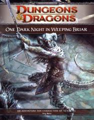 One Dark Night in Weeping Briar