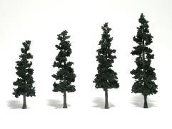 "Realistic Trees - Conifer Green (4""-6"")"