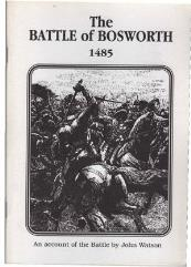 Battle of Bosworth 1485, The