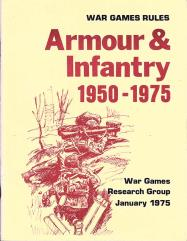 Armor & Infantry 1950-1975 (1st Printing)
