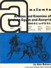 Armies and Enemies of Ancient Egypt and Assyria - 3200 BC to 612 BC (1975 Edition)