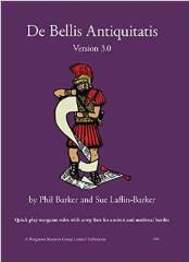 De Bellis Antiquitatis - Wargames Rules for Ancient and Medieval Battles 3000BC - 1500AD (Version 3.0, 2014 Edition)