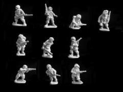 US Paratroopers in Helmets